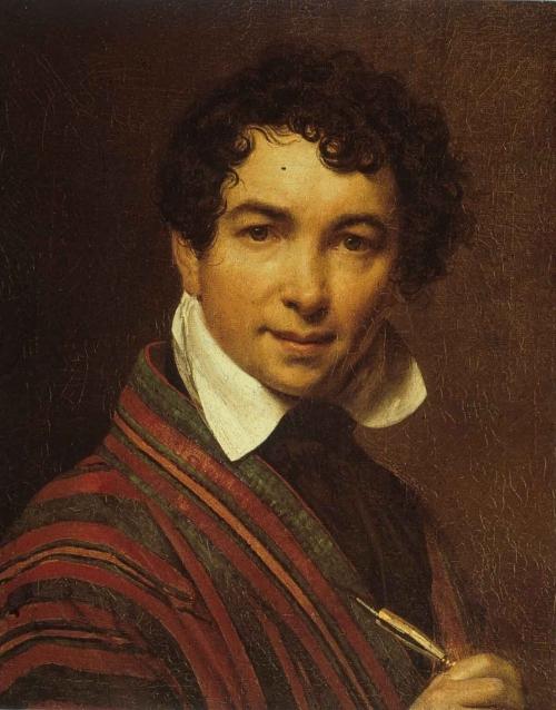 Орест Кипренский, автопортрет (1828 г.)
