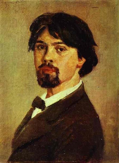 Портрет Сурикова Василия Ивановича, Автопортрет 1879 г.