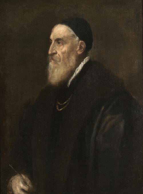 Автопортрет Тициана, около 1567