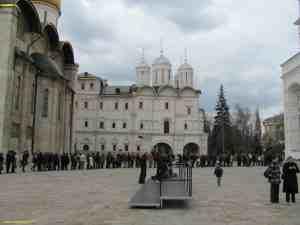 Московский кремль. Соборная площадь