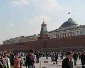 Московский кремль. Сенатская башня Московского кремля