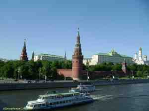 Московский кремль. Водовзводная (Свиблова) башня Московского кремля