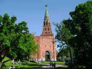 Московский кремль. Боровицкая башня