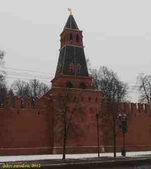 Московский кремль. Вторая Безымянная башня