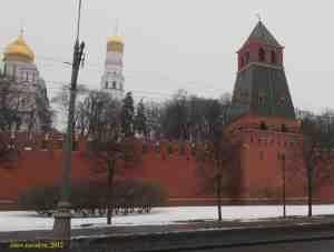 Московский кремль. Первая Безымянная башня
