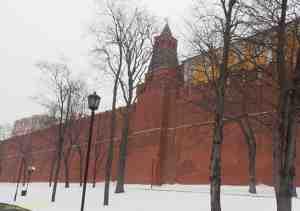 Московский кремль. Комендантская башня (Колымажная)