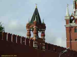 Московский кремль. Царская башня
